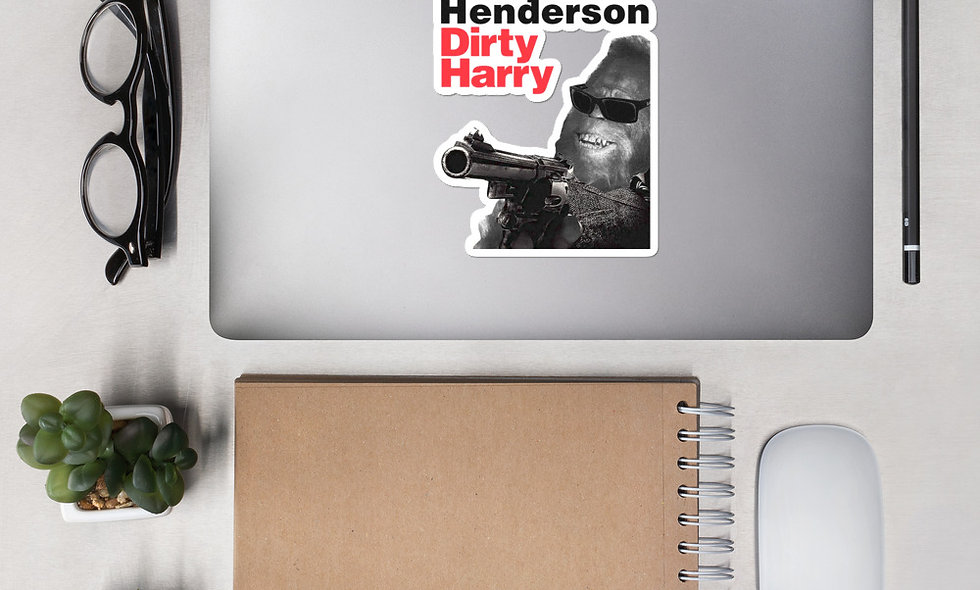 Dirty Harry Henderson Sticker