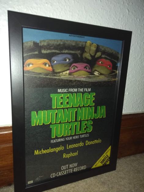TMNT Movie Soundtrack Ad