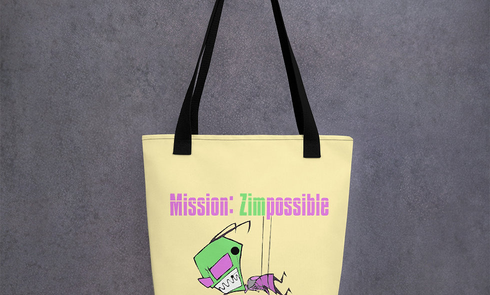 Zim Possible Tote bag