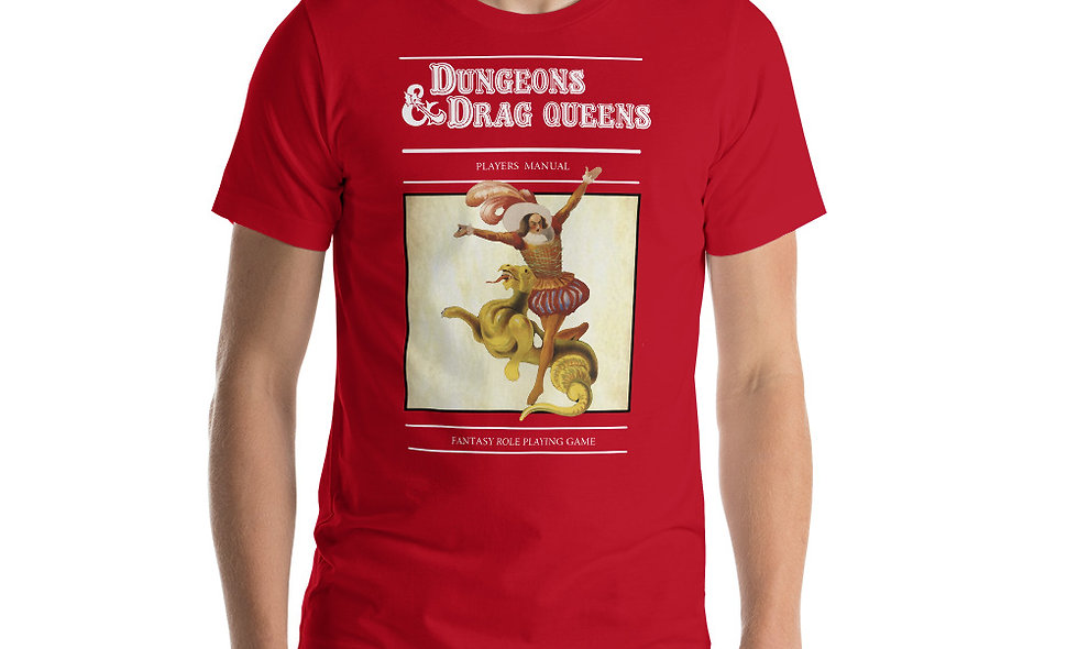 Dungeons and Drag Queens Short-Sleeve Unisex T-Shirt