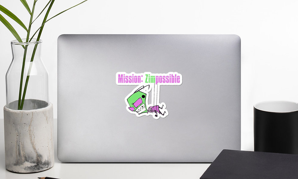 Mission Zimpossible Sticker