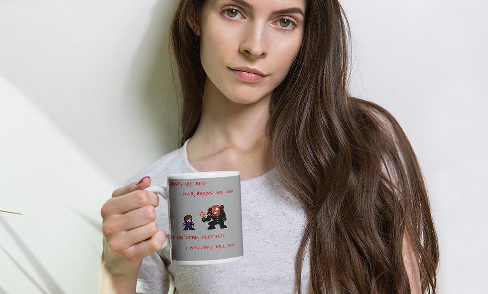 Resi Valentines White Glossy Mug