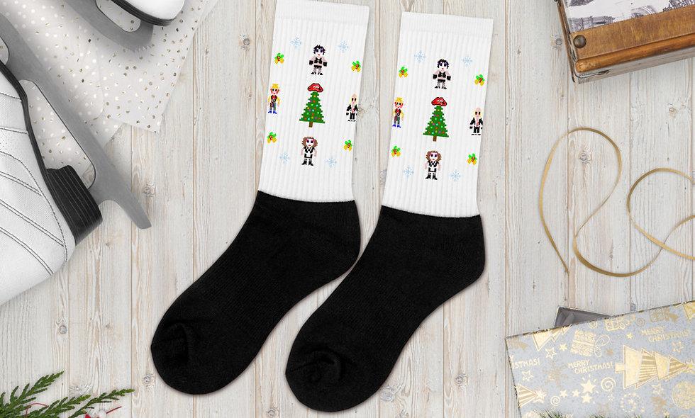 Rocky Around The Christmas Tree Socks