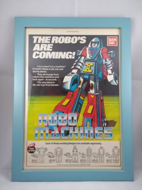 Bandai Robo Machines Advert