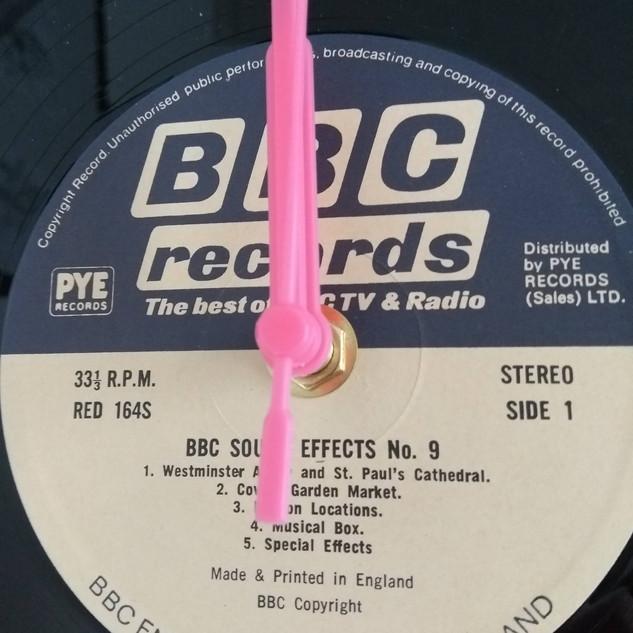 BBC Records Clock