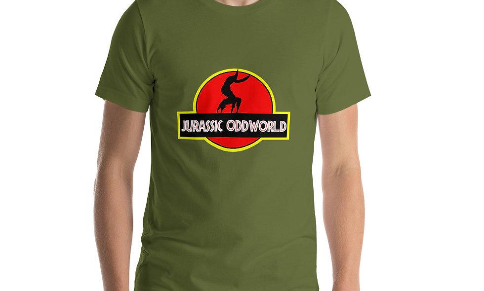 Jurassic Oddworld Short-Sleeve Unisex T-Shirt