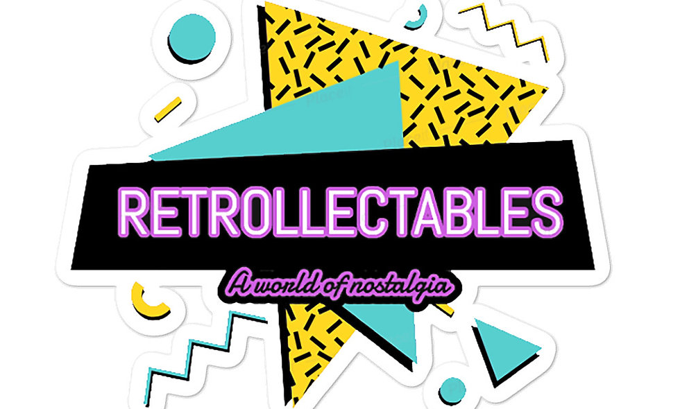 Retrollectables Logo Sticker