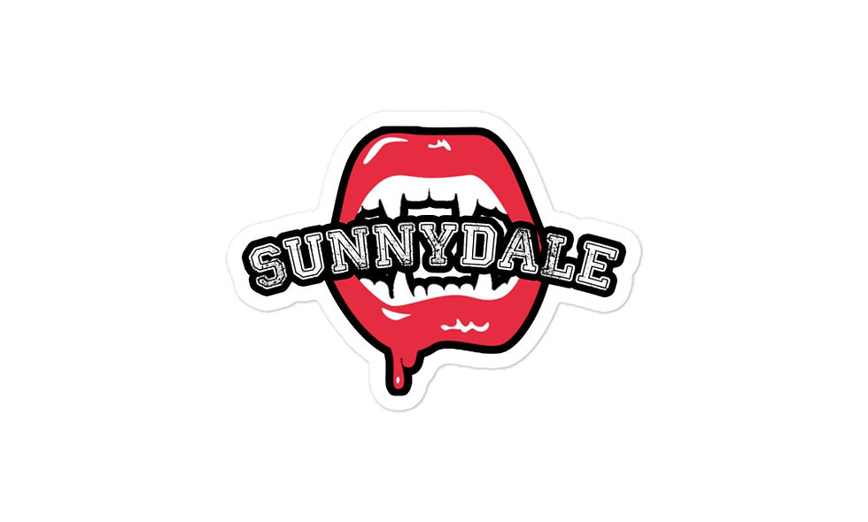 Sunnydale Sucks Bubble-free stickers