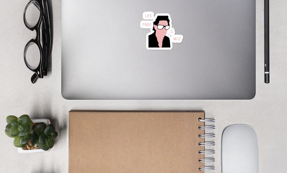 Life Finds A Way Sticker