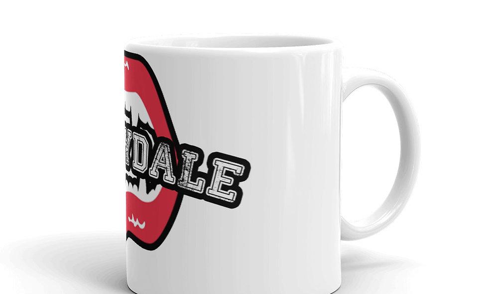Sunnydale Sucks White glossy mug