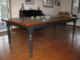 Custom Harvest Table Ontario