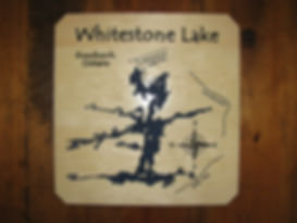 Custom Wooden Sign Whitestone Lake