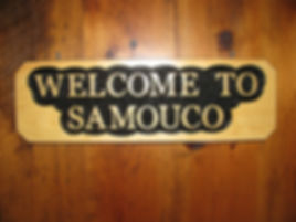 Custom Wooden Welcome To Signs