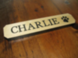 Custom Dog Name Sign