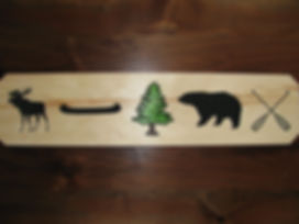Canadiana images for custom wooden signs