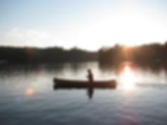Custom Canoe by Bruce Stuart