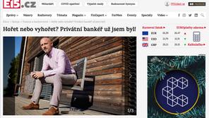 """Jiří Bureš pro E15.cz: """"Hořet nebo vyhořet? Privátní bankéř už jsem byl!"""""""