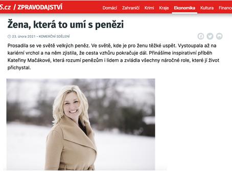 Katka Mačáková pro iDnes.cz: Žena, která to umí s penězi