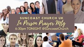 Sunday night prayer meetings