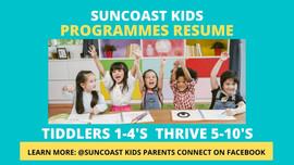 Kids Programme every Sunday