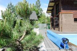 Снять коттедж с бассейном Солнечное