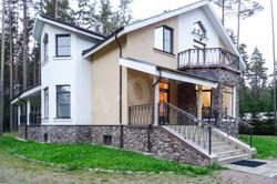фасад дома в дпк лемболовский,аренда