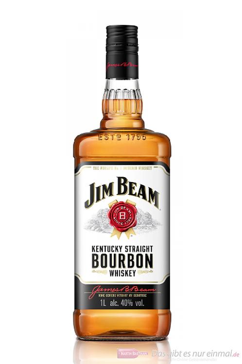 1 Flasche Jim Beam mit 10 Flaschen Kola