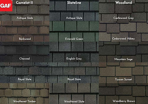 GAF Roofing Value Collection Swatches.jp