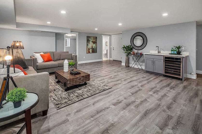 Lehigh Valley interior remodeling Baseme