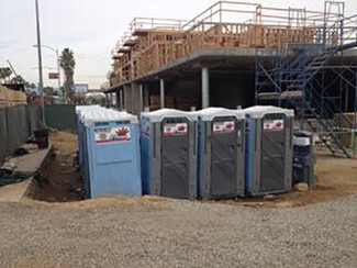 Construction Portable Restroom Rentals