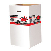 CARDBOARD TRASH BOX