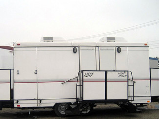 Air Conditioned Porta Potty Trailers