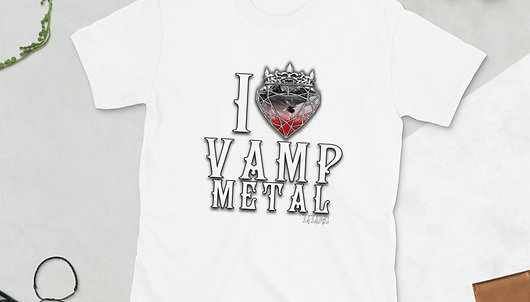 I Heart Vamp Metal T-shirt