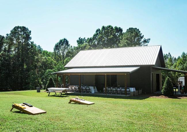 The Pavilion side porch