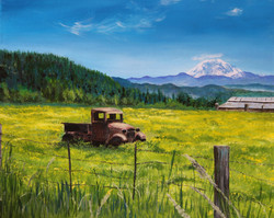 Old Truck in the Buttercups