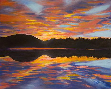 Sunrise Over Lake Retreat