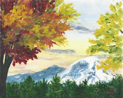 Mt. Ranier in the Fall