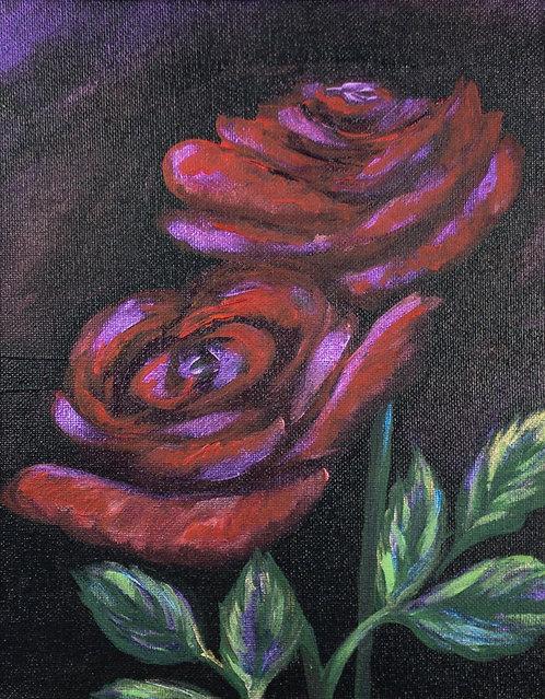 """Red Roses on """"Velvet"""""""