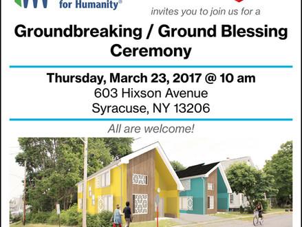 Hixson Ave Ground Blessing Ceremony