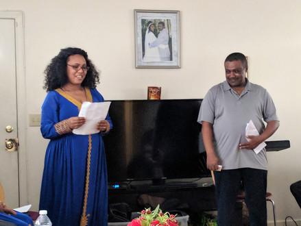 Tadese and Beraki Family Home Dedication
