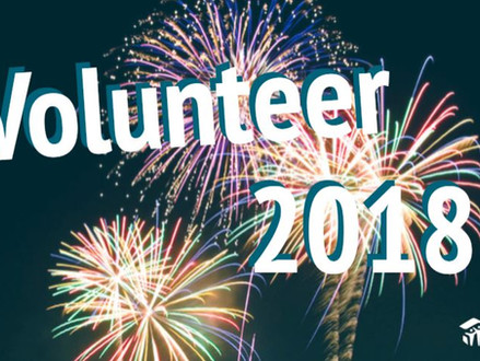 Volunteer in the New Year