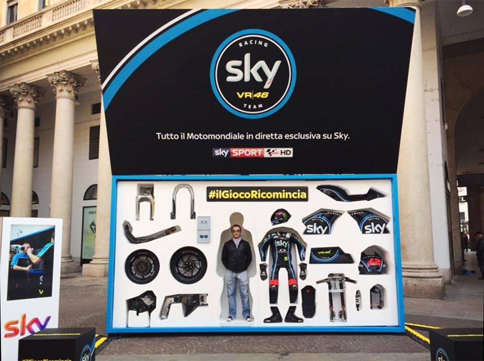 Sky VR46, #ilGiocoRicomincia