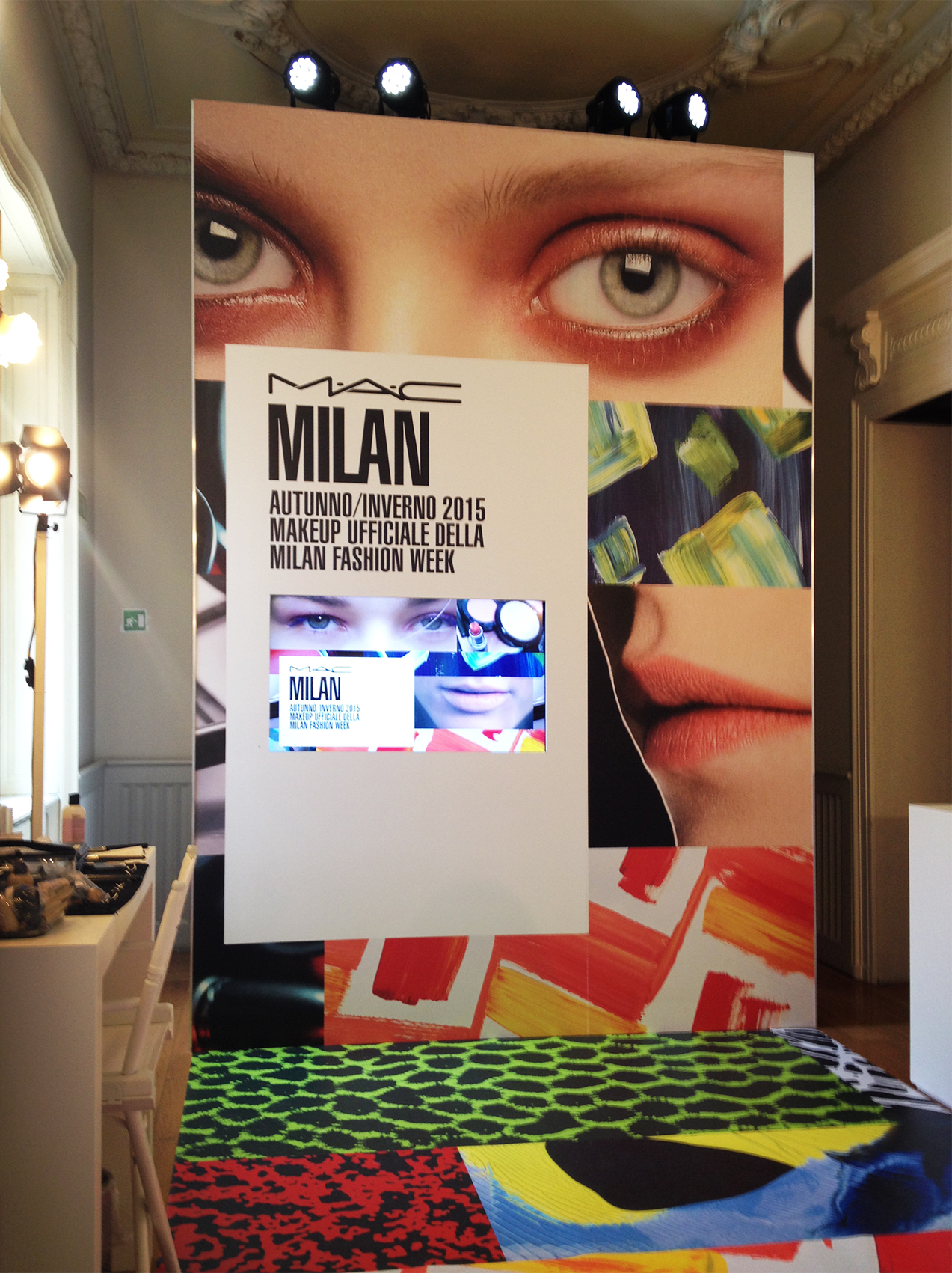 MAC, Milan Fashion Week 2015