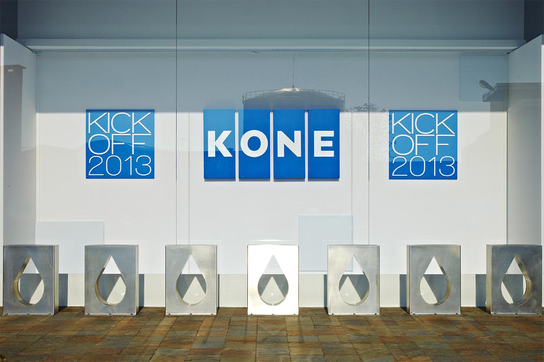 KONE, KICK OFF 2013