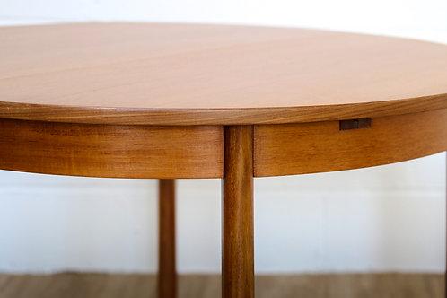 White & Newton 1960's retro teak extending dining table