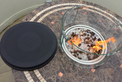 Marble Top Fire Pit