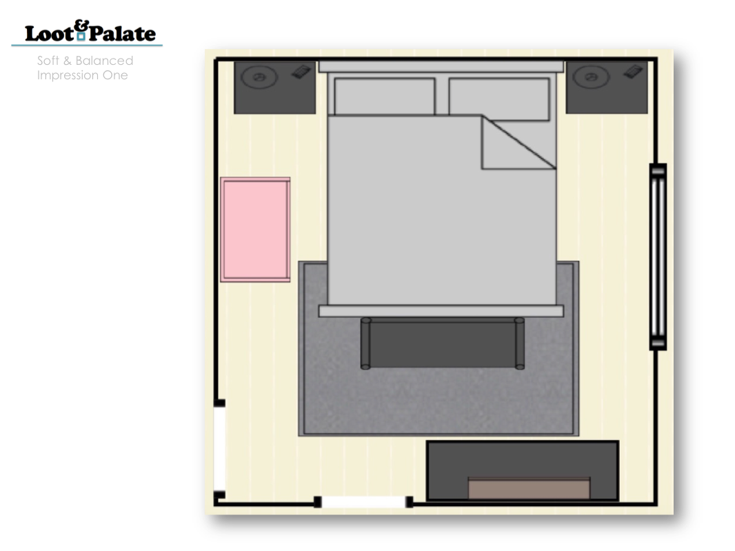 Master Bedroom Drawings - Apartment