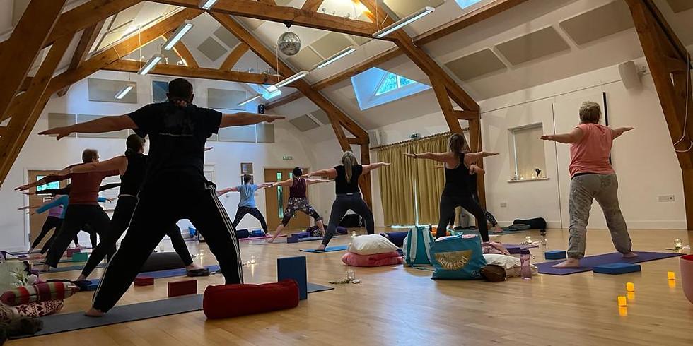 Christmas Yoga and Sound Bath with Naomi and Tim Brew