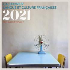 Calendrier Langue et culture françaises 2021 PUG Grenoble