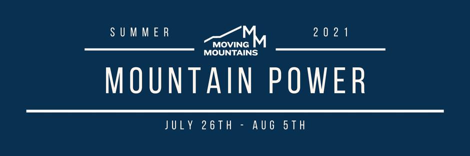 07/26 Summer MTN Power Week 1